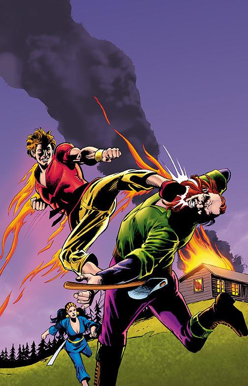 RICHARD-DRAGON-KUNG-FU-FIGHTER DC Comics December 2020 Solicitations