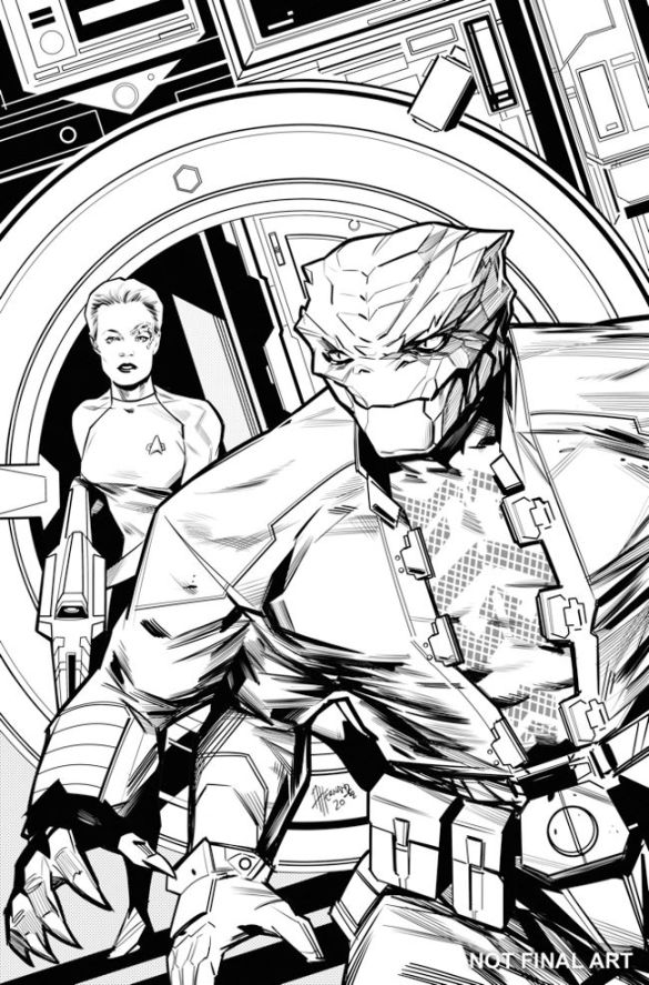 ST_VOYAGER_LIBERATION_ISSUE_2_COVER_V3_INK_REV_01 IDW Publishing December 2020 Solicitations