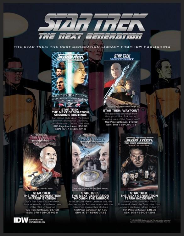 STforpreviews1 IDW Publishing November 2020 Solicitations