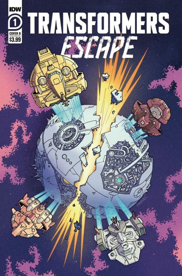TFEscape-Cover-B IDW Publishing December 2020 Solicitations