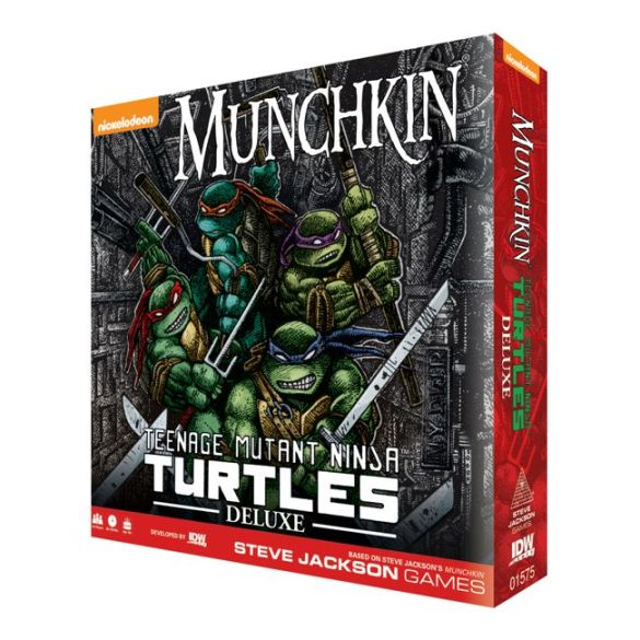 TMNTMunchkin-DeluxeRetail-BoxMock_SJG IDW Publishing December 2020 Solicitations