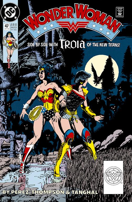 WW-BY-PEREZ-VOL5 DC Comics December 2020 Solicitations