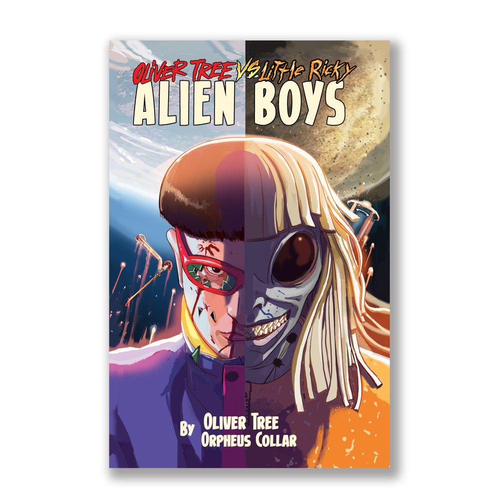 6b99e5ec-c225-4204-8e10-bab627ccf554 Oliver Tree first graphic novel to be OLIVER TREE VS. LITTLE RICKY: ALIEN BOYS