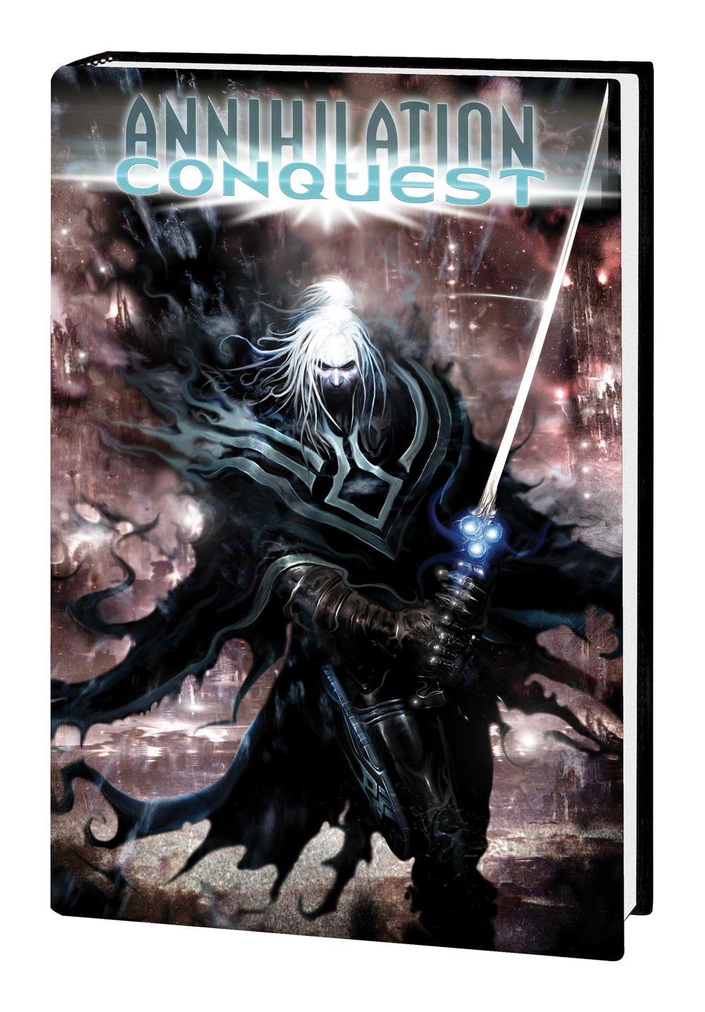 ANNCONQUEST_OMNI_HC_VAR-2 Marvel Comics January 2021 Solicitations
