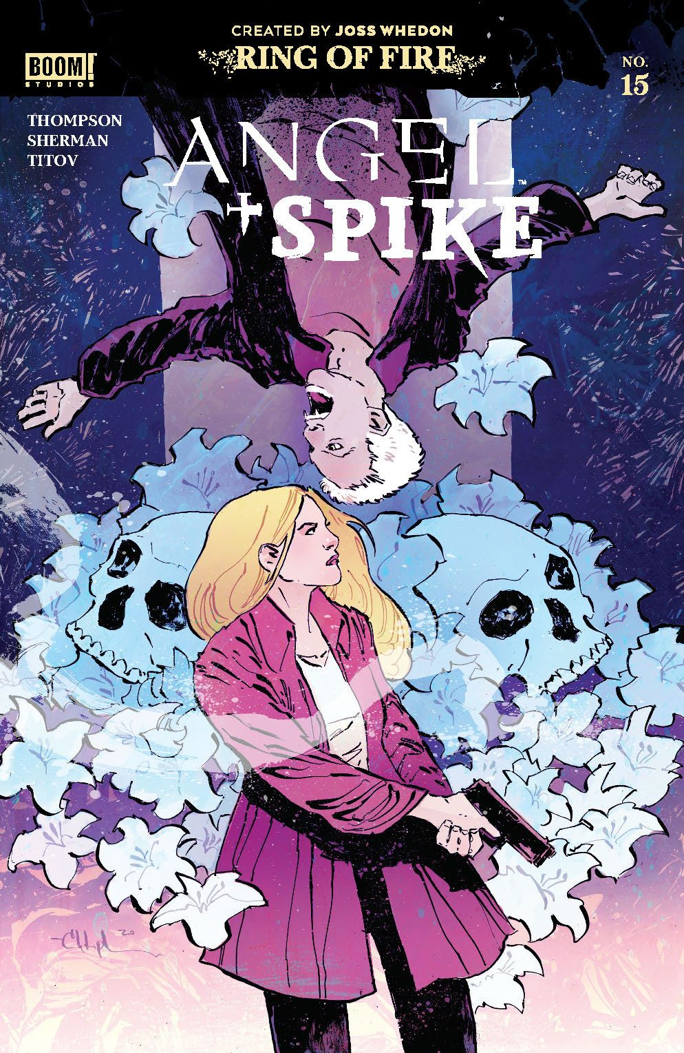 Angel_015_Cover_A_Main ComicList Previews: ANGEL AND SPIKE #15