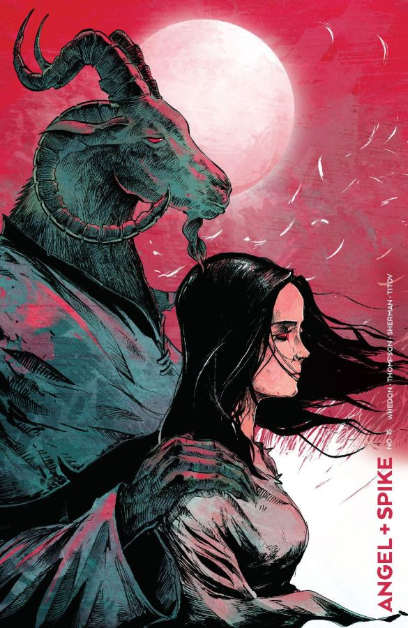 Angel_015_Cover_C_Variant ComicList Previews: ANGEL AND SPIKE #15