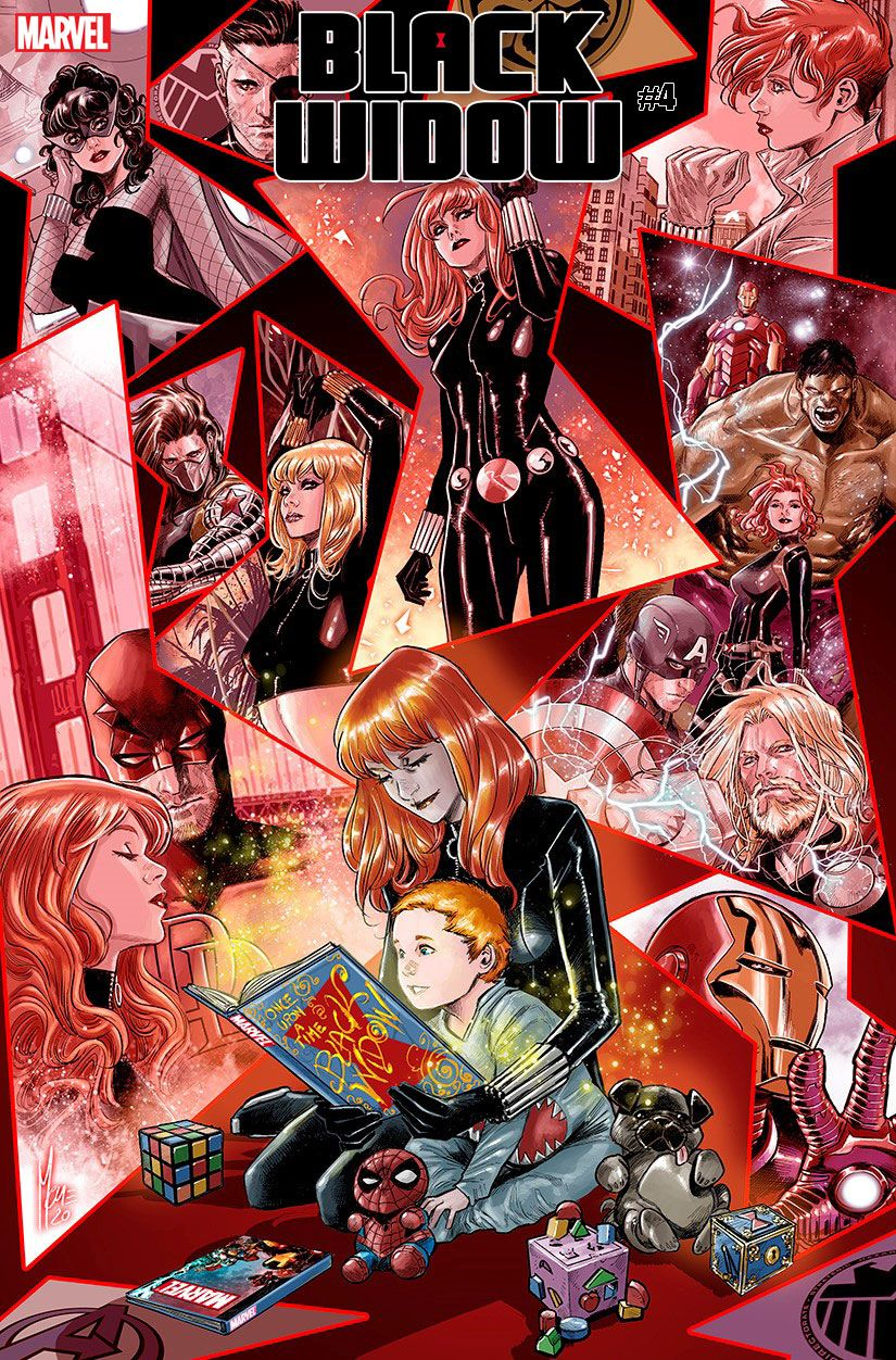 BLAW2020004_Checchetto-var The Black Widow's secrets are revealed in variant covers