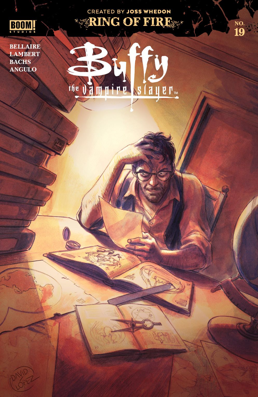 Buffy_019_Cover_A_Main ComicList: BOOM! Studios New Releases for 11/04/2020