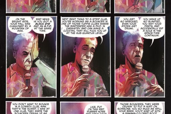 DyingIsEasy-HC_pr-3 ComicList Previews: DYING IS EASY HC
