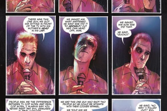 DyingIsEasy-HC_pr-4 ComicList Previews: DYING IS EASY HC