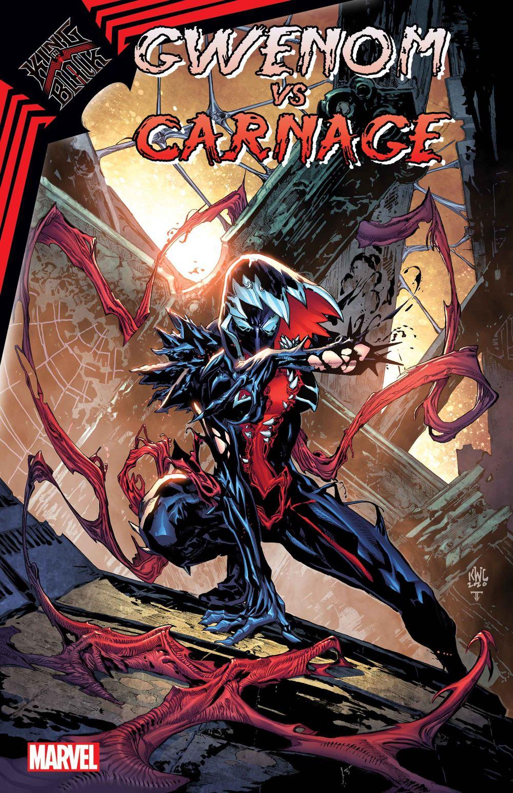 GWENOMVSCARN2020001_cov-3 Symbiotes will spar in KING IN BLACK: GWENOM VS CARNAGE