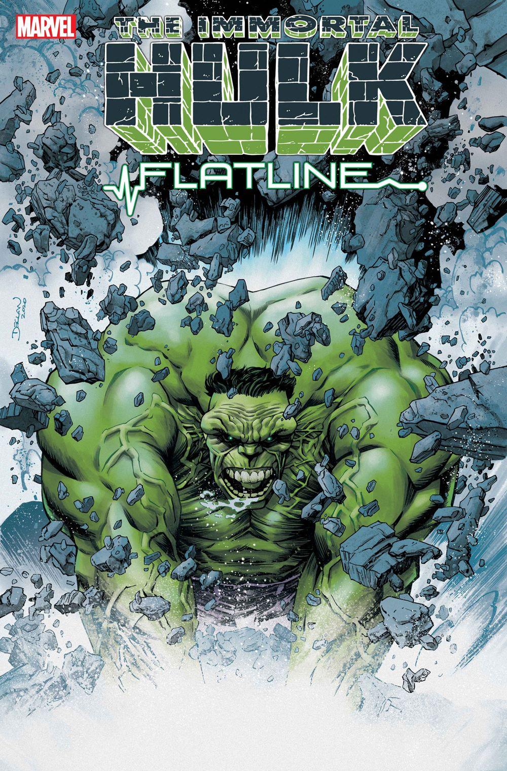 HULK2021_FLATLINE_Shalvey-1 Marvel Comics January 2021 Solicitations