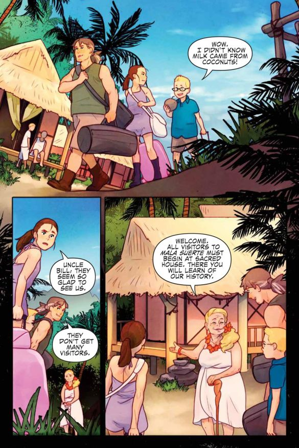JustBeyond_WelcomeBeastIsland_SC_PRESS_14 ComicList Previews: JUST BEYOND WELCOME TO BEAST ISLAND GN