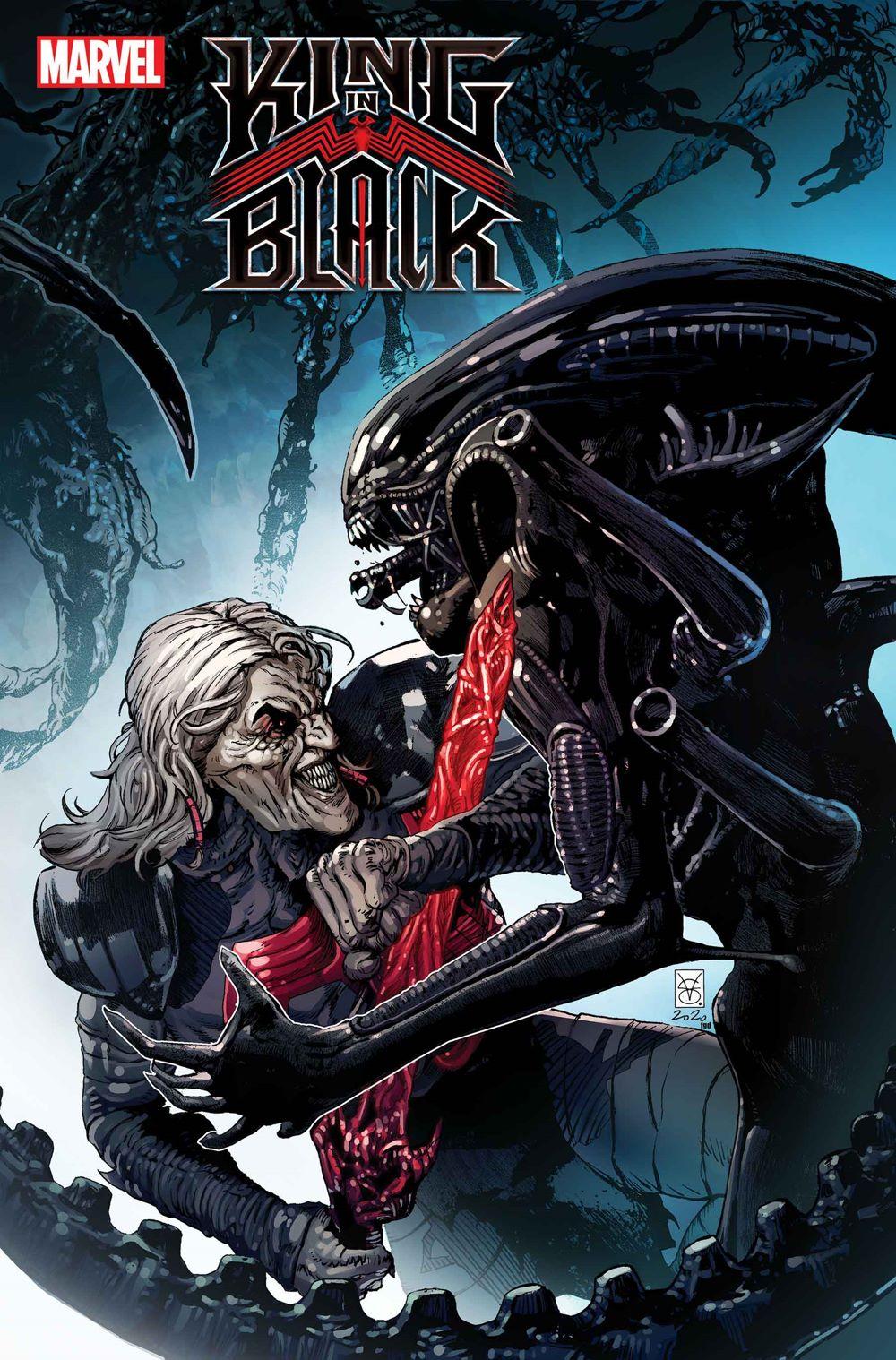 KINGINBLACK003_GiangiordanoVar-1 Marvel Comics January 2021 Solicitations