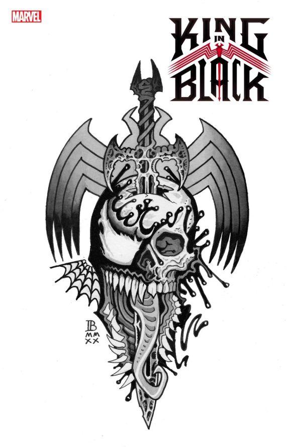 KINGINBLACK2020001_BEDERMAN_TATTOO_DC20 Marvel reveals variant covers for KING IN BLACK #1