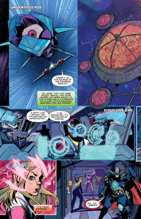 MMPR_BeyondGrid_Deluxe_HC_PRESS_24 ComicList Previews: MIGHTY MORPHIN POWER RANGERS BEYOND THE GRID DELUXE EDITION HC