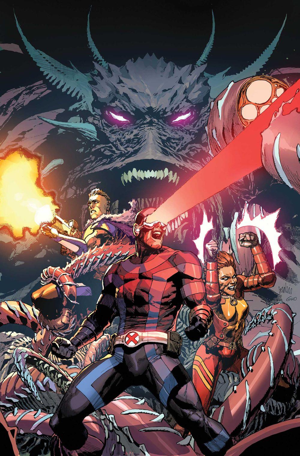 MONOGRAPH_LEINIL_FRANCIS_YU Marvel Comics January 2021 Solicitations
