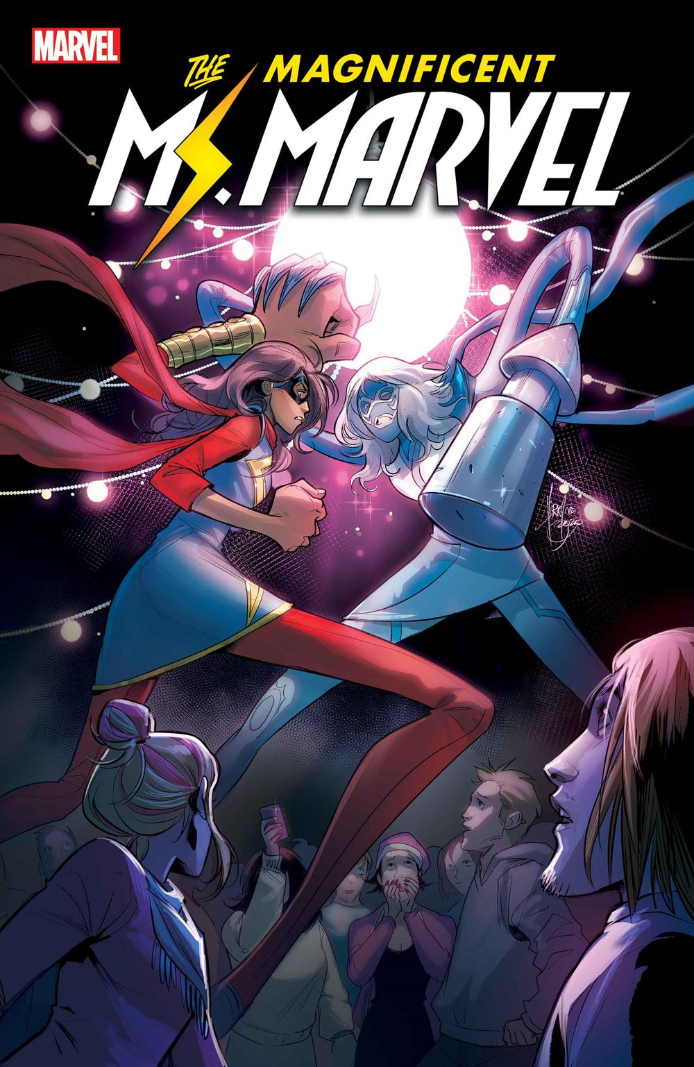MSMARV2019018_Cov-1 THE MAGNIFICENT MS. MARVEL #18 to be extra large finale issue