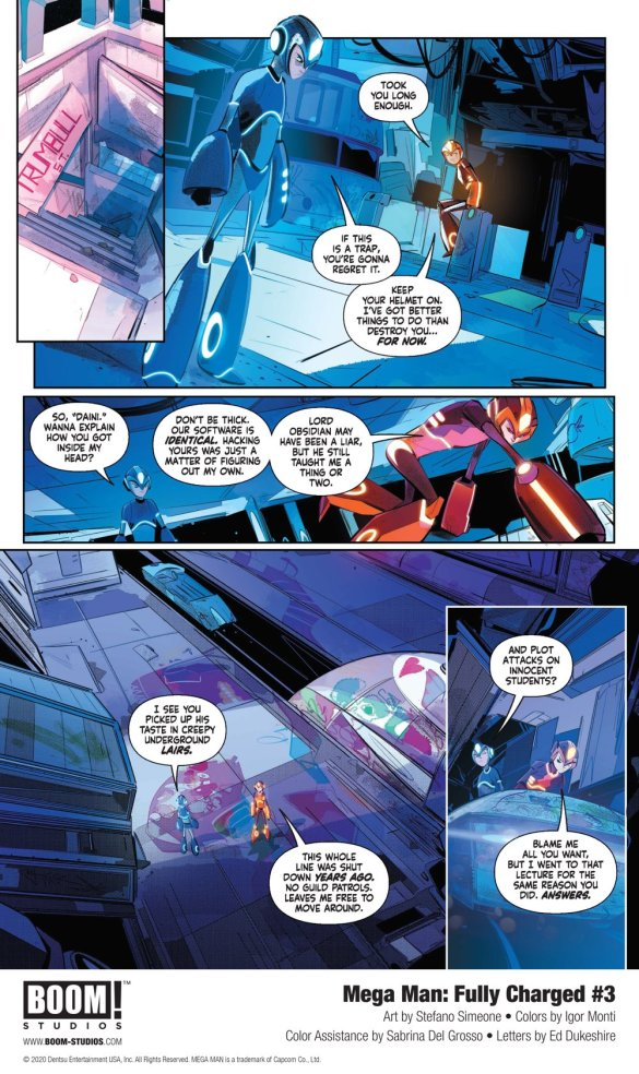 MegaMan_FullyCharged_003_InteriorArt_003_PROMO First Look at BOOM! Studios' MEGA MAN: FULLY CHARGED #3