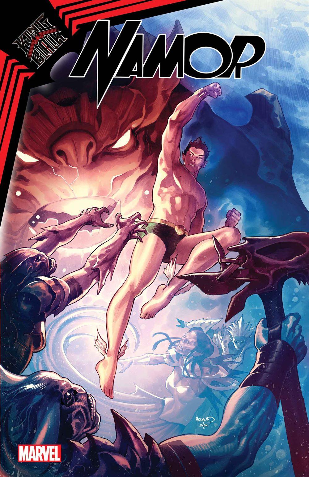 NAMORKIB2020003_Renaud_Var-1 Marvel Comics January 2021 Solicitations
