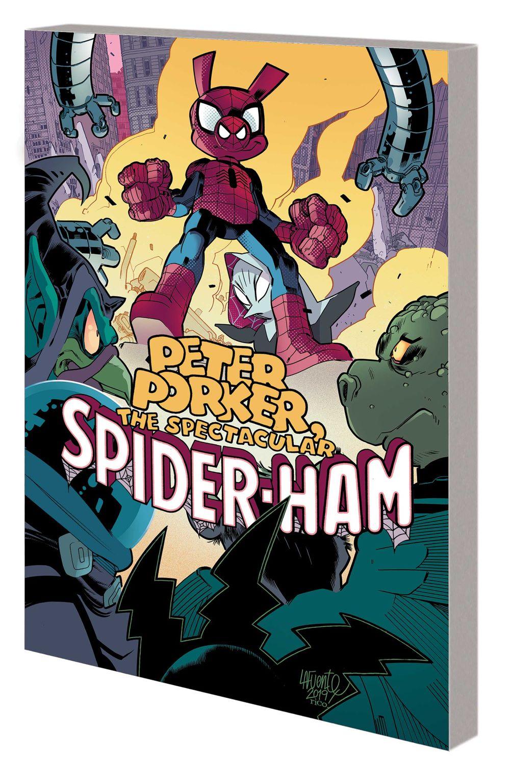 PP_SPIDERHAM_CC_V2_TPB Marvel Comics January 2021 Solicitations