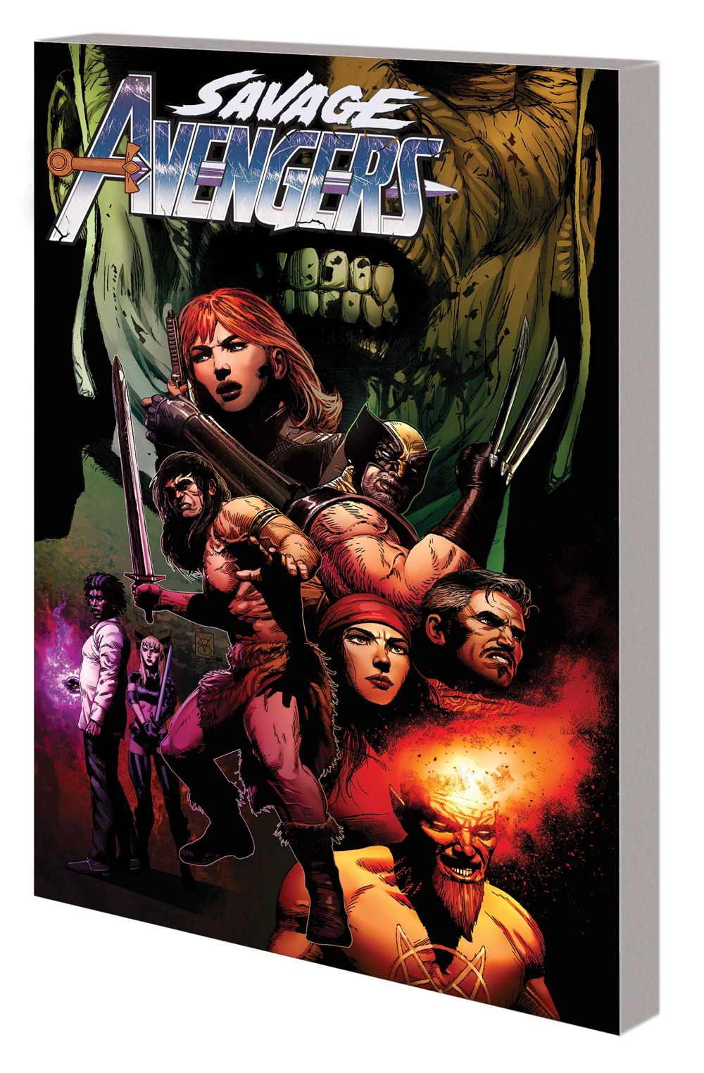 SAVAVENGERS_VOL_3_TPB Marvel Comics January 2021 Solicitations