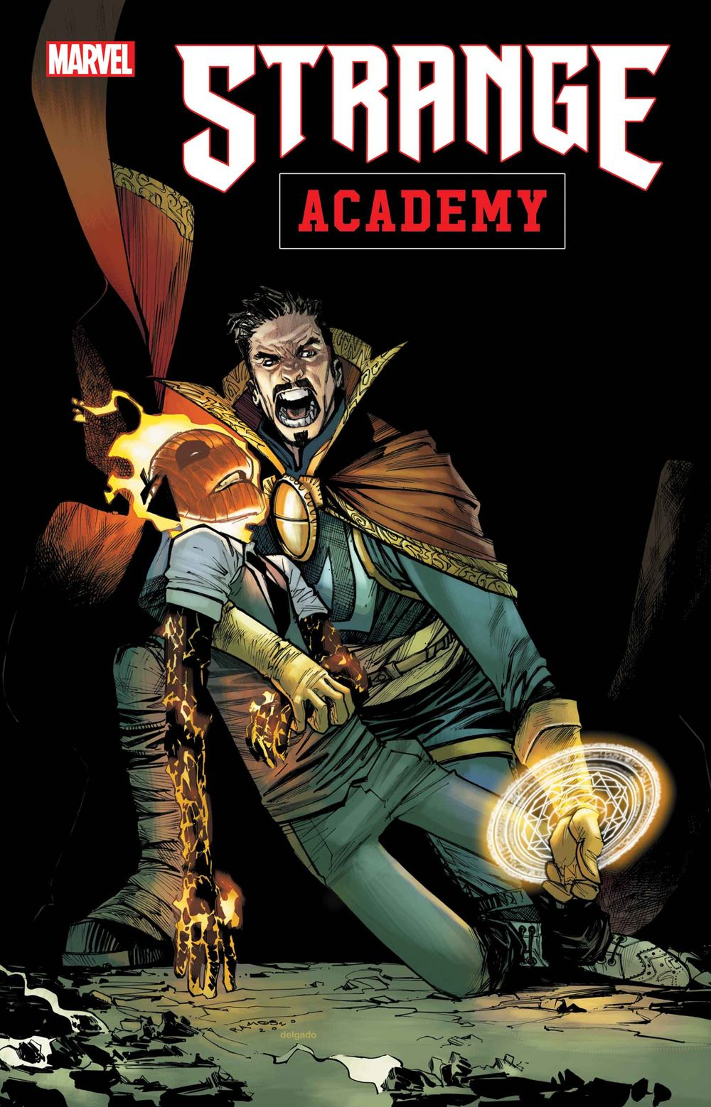 STRACADEMY2020007_cov Marvel Comics January 2021 Solicitations