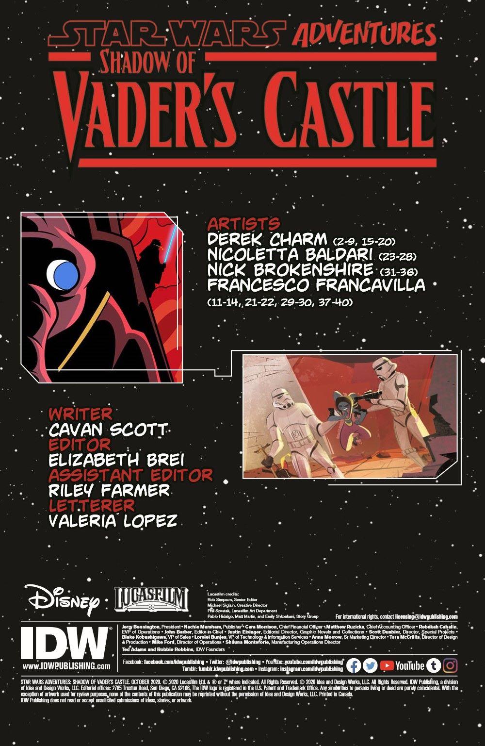 SW_ShadowOfVadersCastle_01-pr-2 ComicList Previews: STAR WARS ADVENTURES SHADOW OF VADER'S CASTLE #1