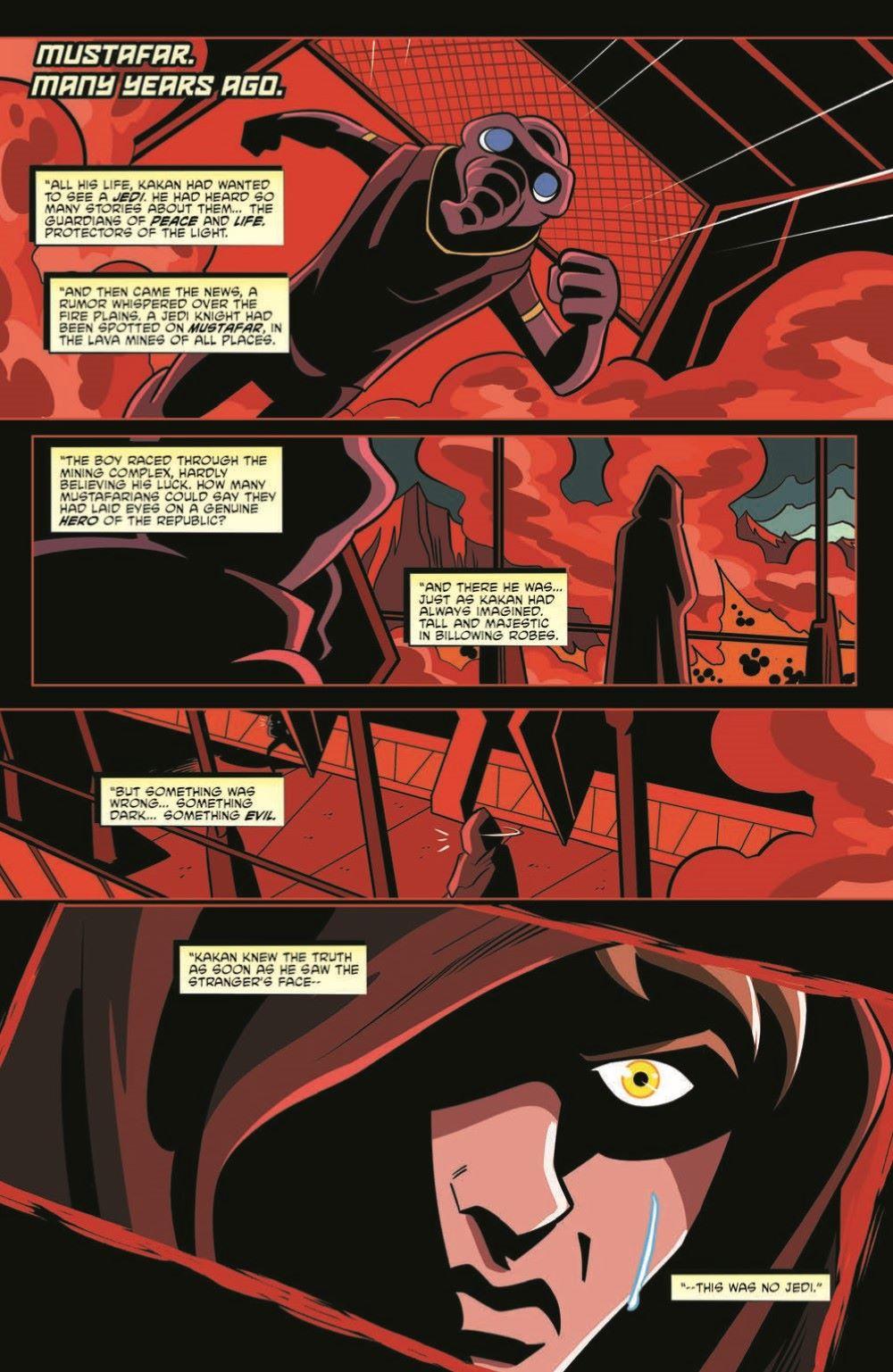 SW_ShadowOfVadersCastle_01-pr-3 ComicList Previews: STAR WARS ADVENTURES SHADOW OF VADER'S CASTLE #1