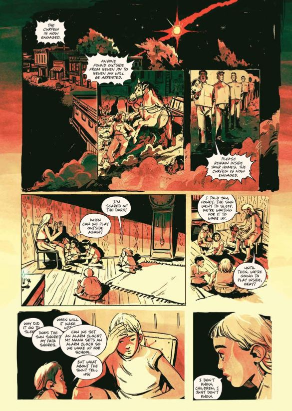 SacrificeDarkness_HC_PRESS_16 ComicList Previews: THE SACRIFICE OF DARKNESS HC