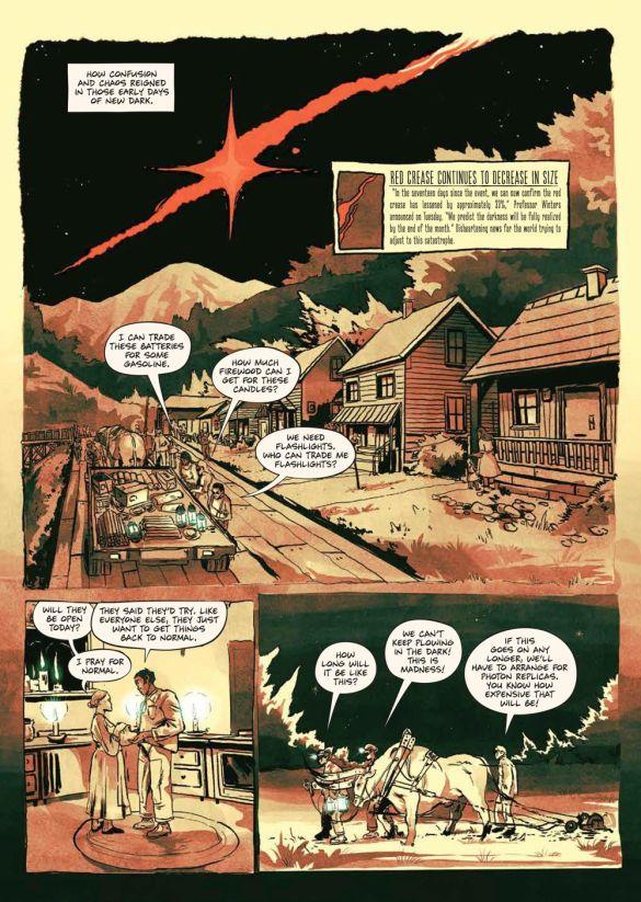 SacrificeDarkness_HC_PRESS_17 ComicList Previews: THE SACRIFICE OF DARKNESS HC