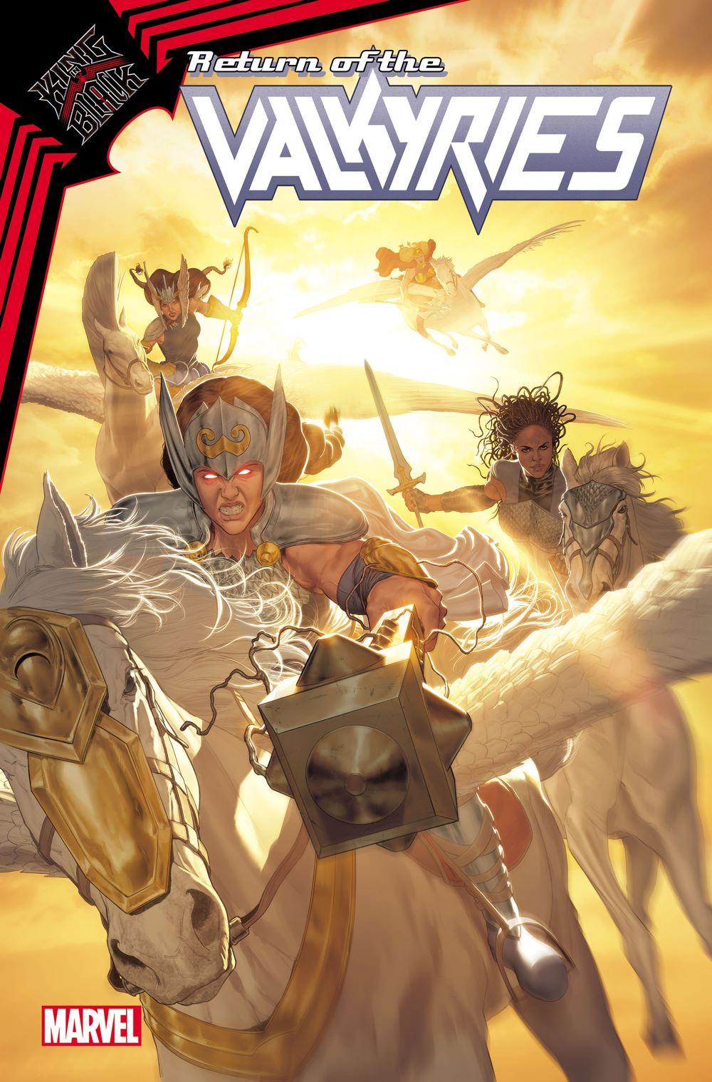 VALKYRIES2021001_cvr Marvel Comics January 2021 Solicitations