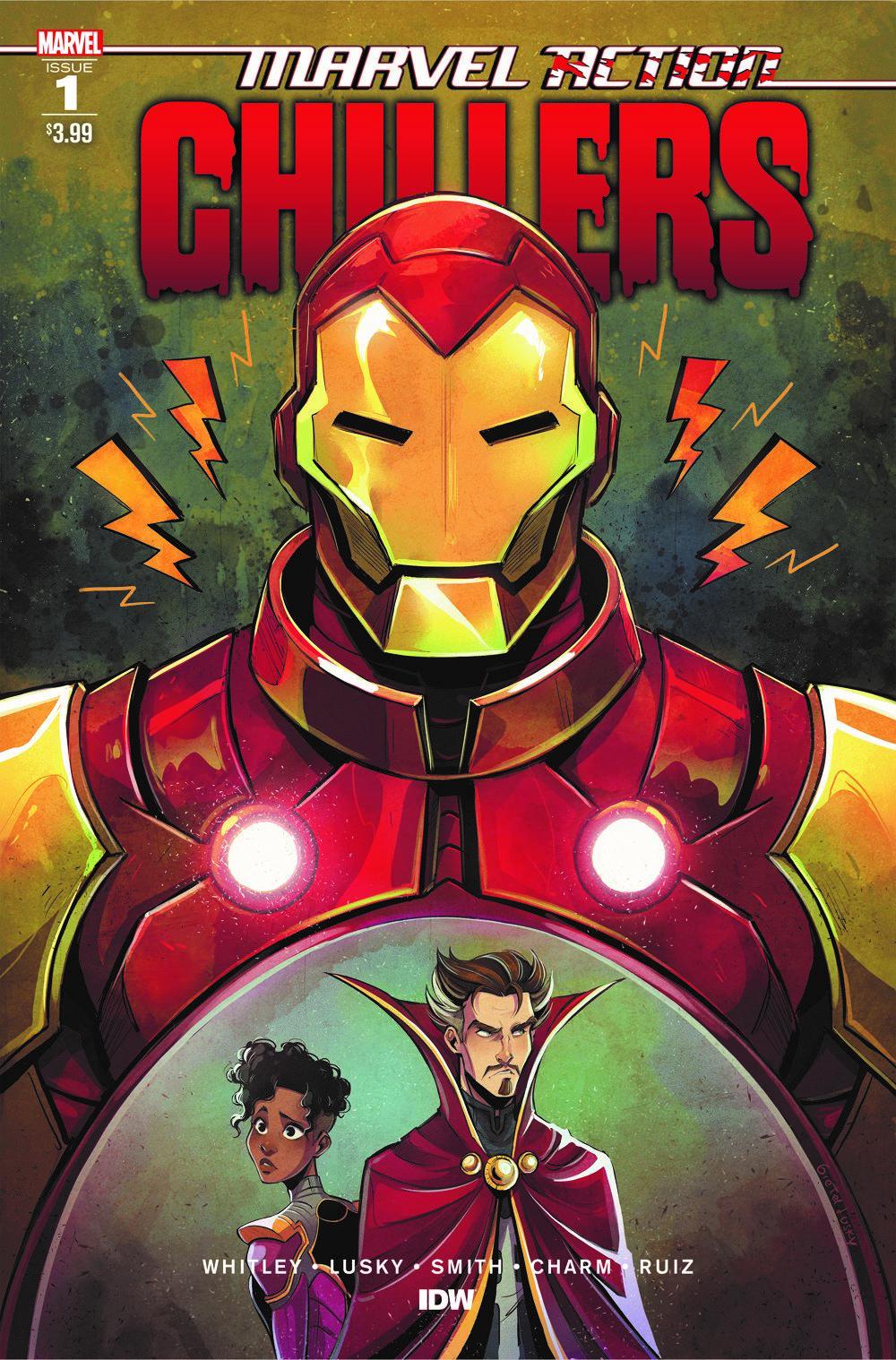 AvengersCHILLERS_01_CvrA ComicList Previews: MARVEL ACTION CHILLERS #1
