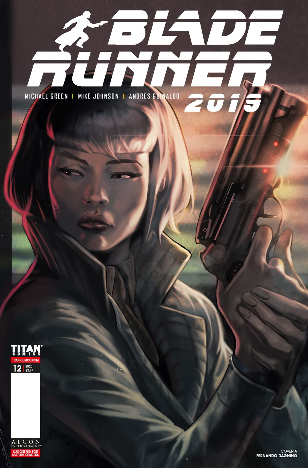 BR12_00_Cover_A ComicList Previews: BLADE RUNNER 2019 #12