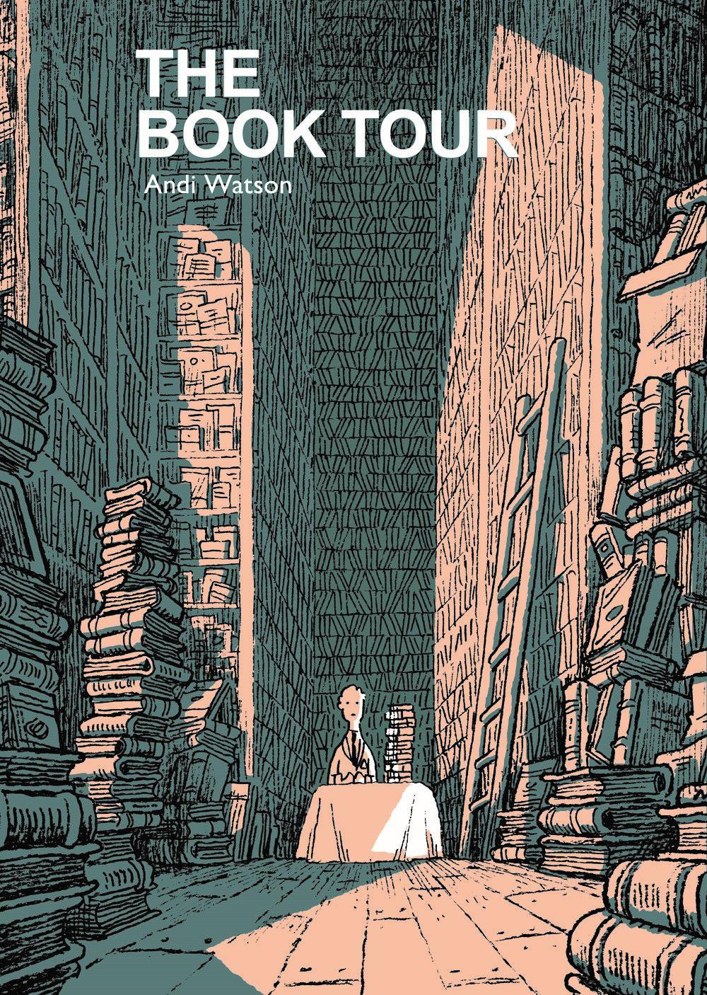 BookTour_CvrFront ComicList Previews: THE BOOK TOUR GN