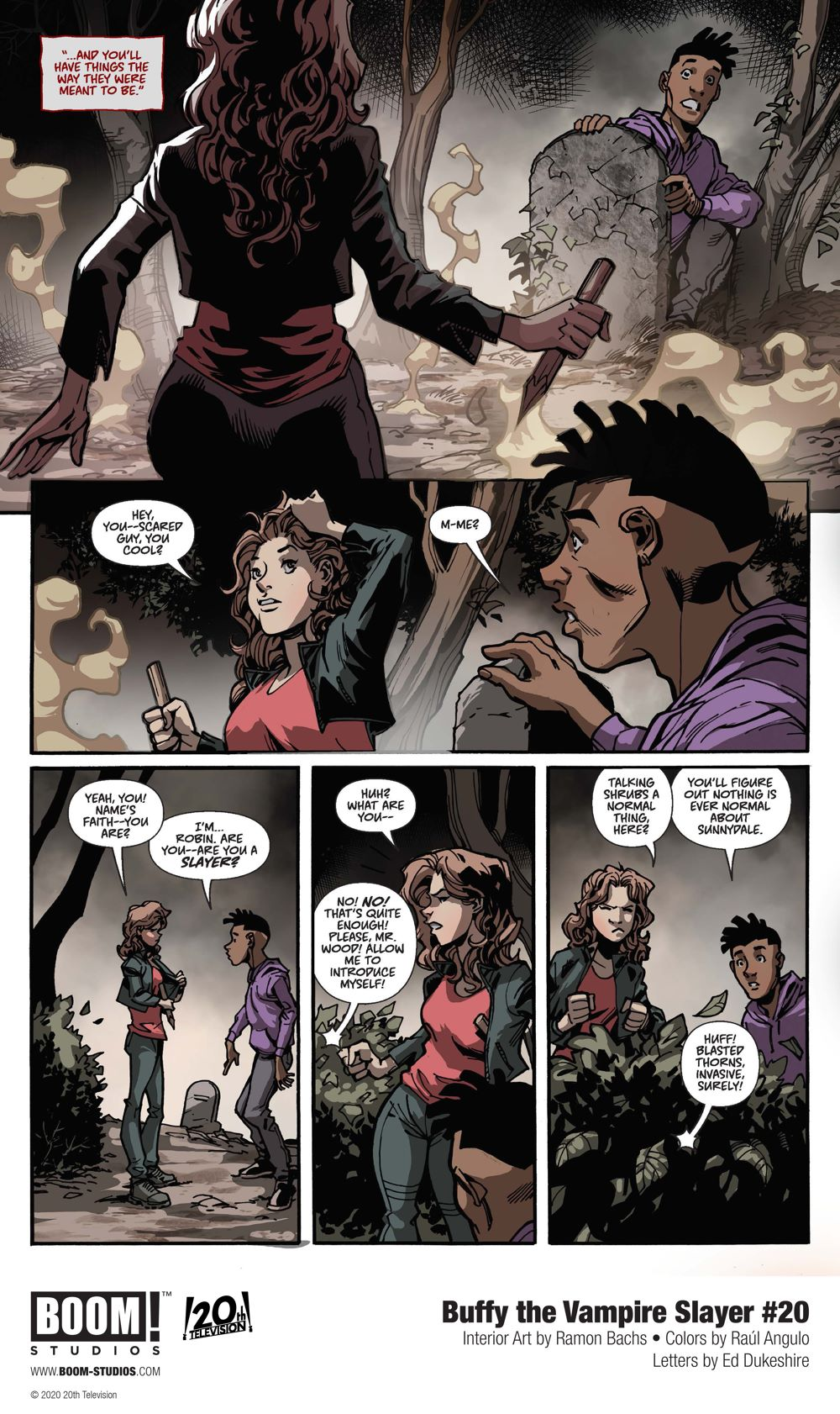 Buffy_020_InteriorArt_005_PROMO First Look at BOOM! Studios' BUFFY THE VAMPIRE SLAYER #20