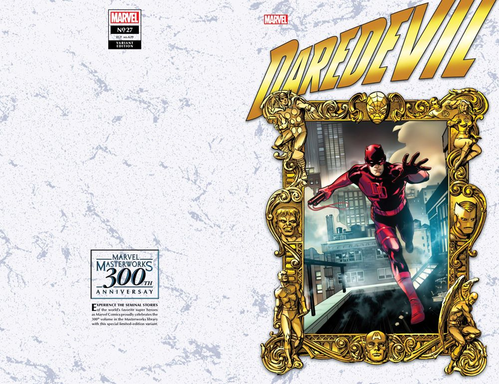 DD2019027_Lupacchino_Masterworks Marvel Masterworks' 300th volume honored on single issue variant covers