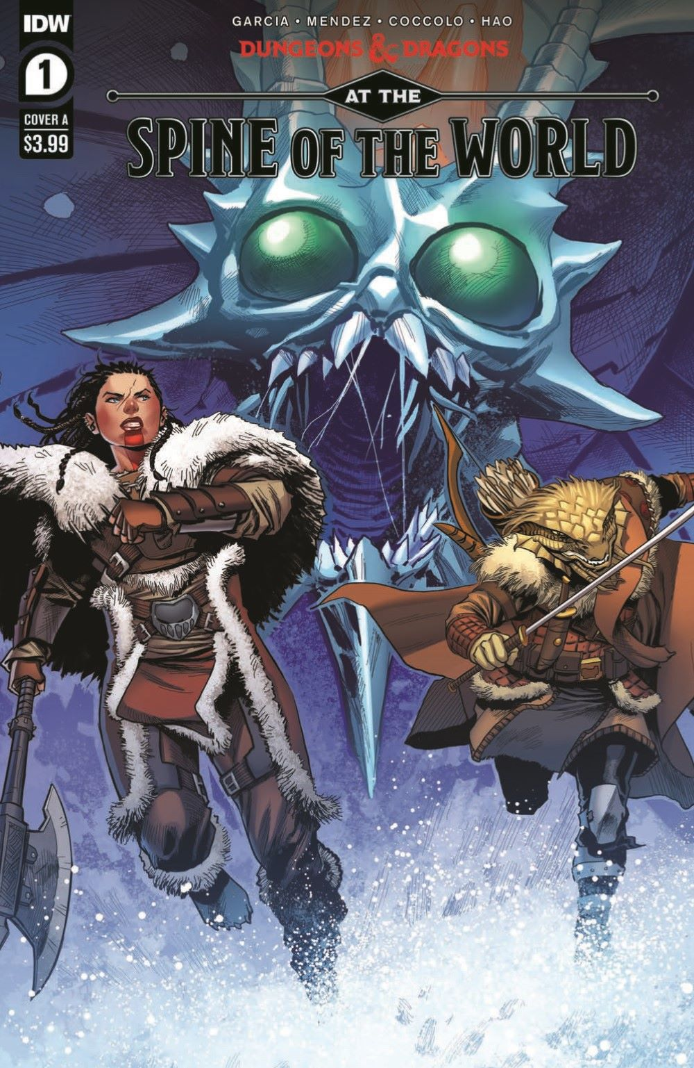 DD_ATSOTW01-pr-1 ComicList Previews: DUNGEONS AND DRAGONS AT THE SPINE OF THE WORLD #1 (OF 4)