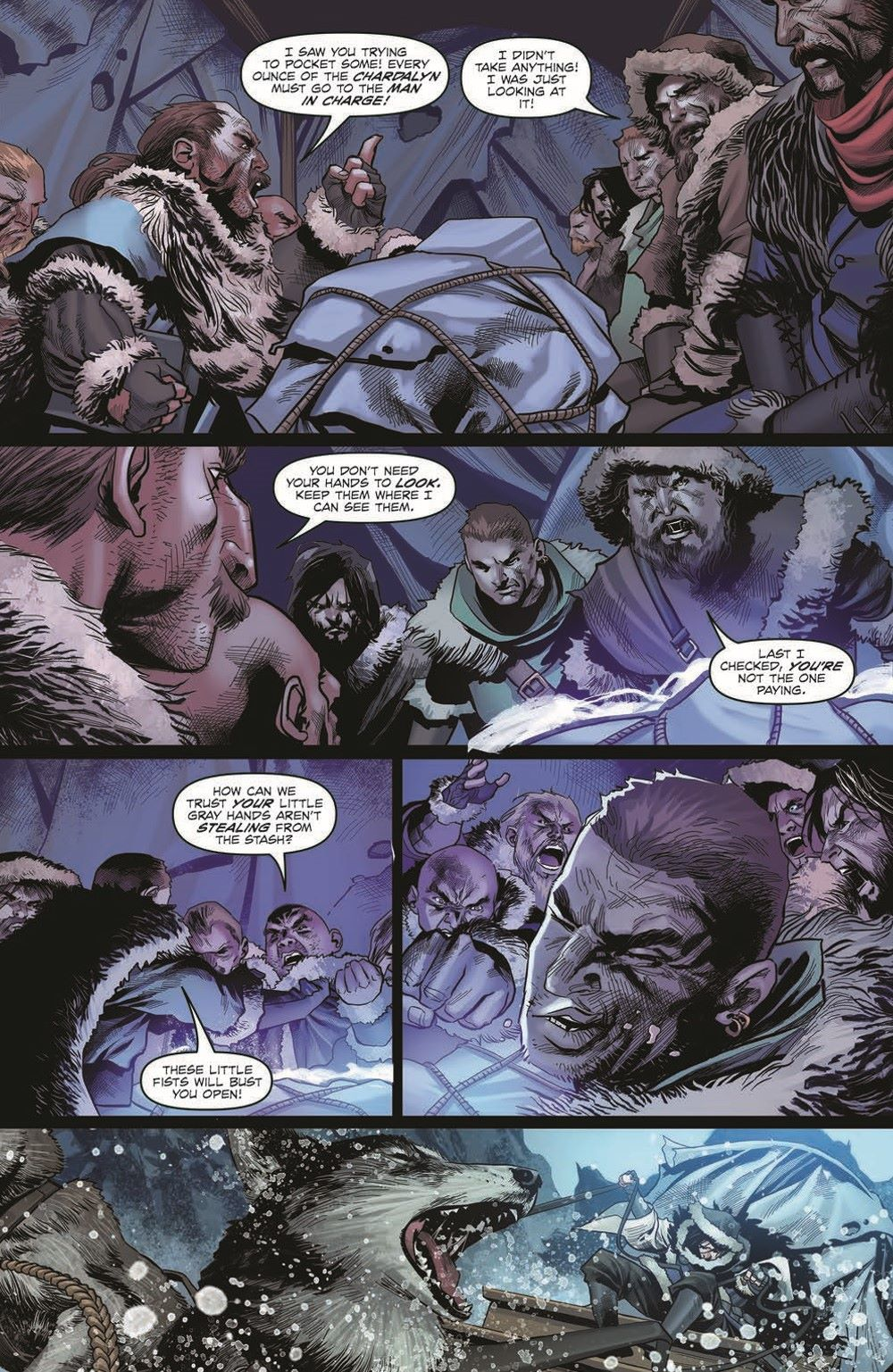DD_ATSOTW01-pr-4 ComicList Previews: DUNGEONS AND DRAGONS AT THE SPINE OF THE WORLD #1 (OF 4)