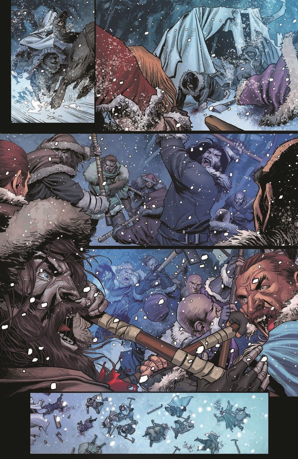 DD_ATSOTW01-pr-5 ComicList Previews: DUNGEONS AND DRAGONS AT THE SPINE OF THE WORLD #1 (OF 4)