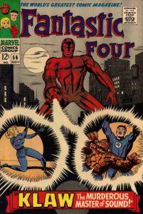 Fantastic-Four-56-1-201x300 Almost Infamous: Klaw
