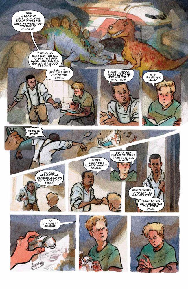 Firefly_OGN_WatchHowISoar_HC_PRESS_38 ComicList Previews: FIREFLY WATCH HOW I SOAR HC