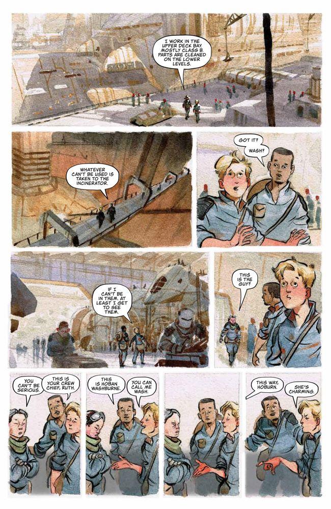 Firefly_OGN_WatchHowISoar_HC_PRESS_40 ComicList Previews: FIREFLY WATCH HOW I SOAR HC
