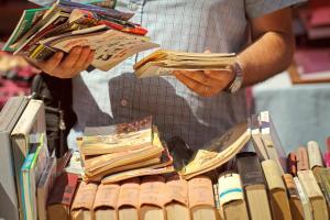 Flea-Market-1-300x200 Flea Market Find #1:  Hunting for Comic Books