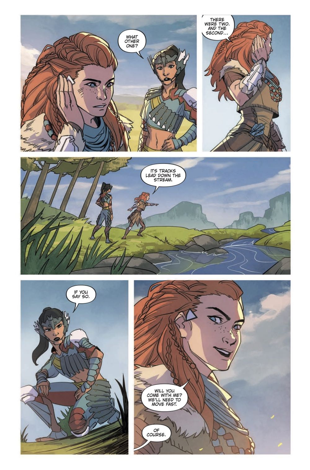 HZD_Comics-List-3 Special preview of Titan Comics' HORIZON ZERO DAWN VOLUME 1