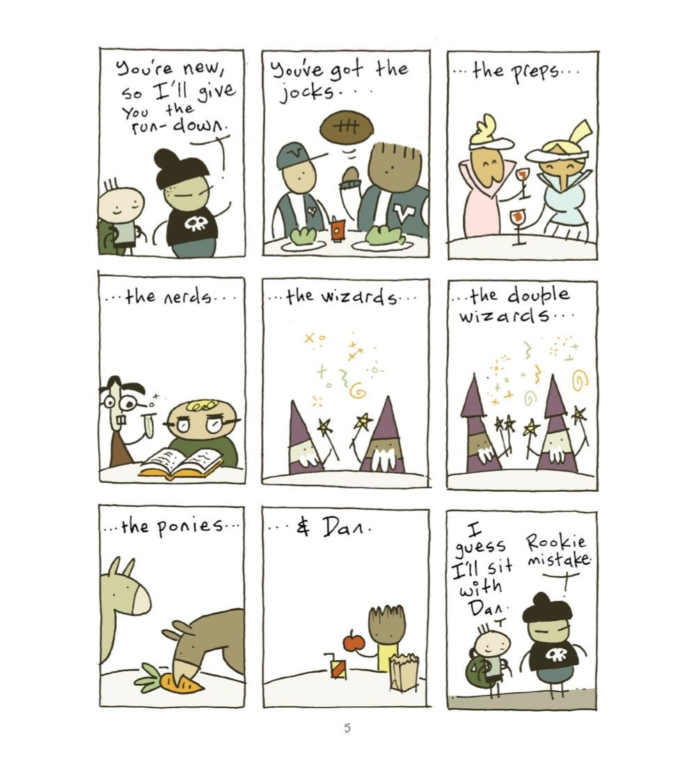 JUSTACTNORMAL_REFERENCE-006 ComicList Previews: JUST ACT NORMAL A PIE COMICS COLLECTION GN