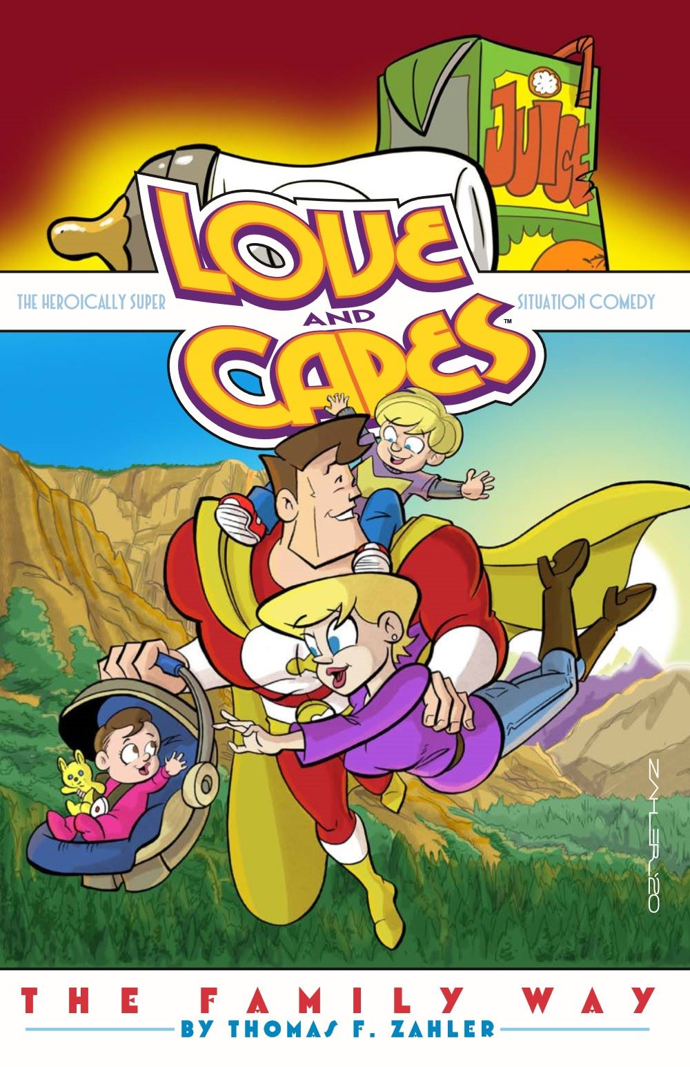 LoveandCapes_V5_pr-1 ComicList Previews: LOVE AND CAPES VOLUME 5 THE FAMILY WAY TP