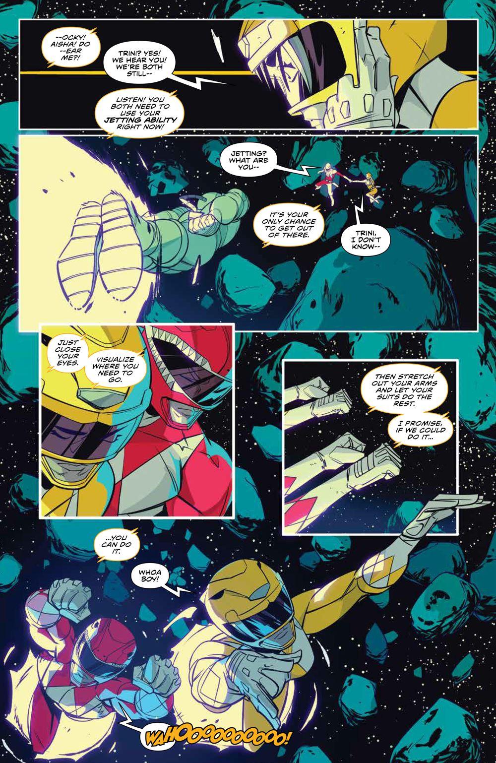 MMPR_v13_SC_PRESS_14 ComicList Previews: MIGHTY MORPHIN POWER RANGERS VOLUME 13 TP