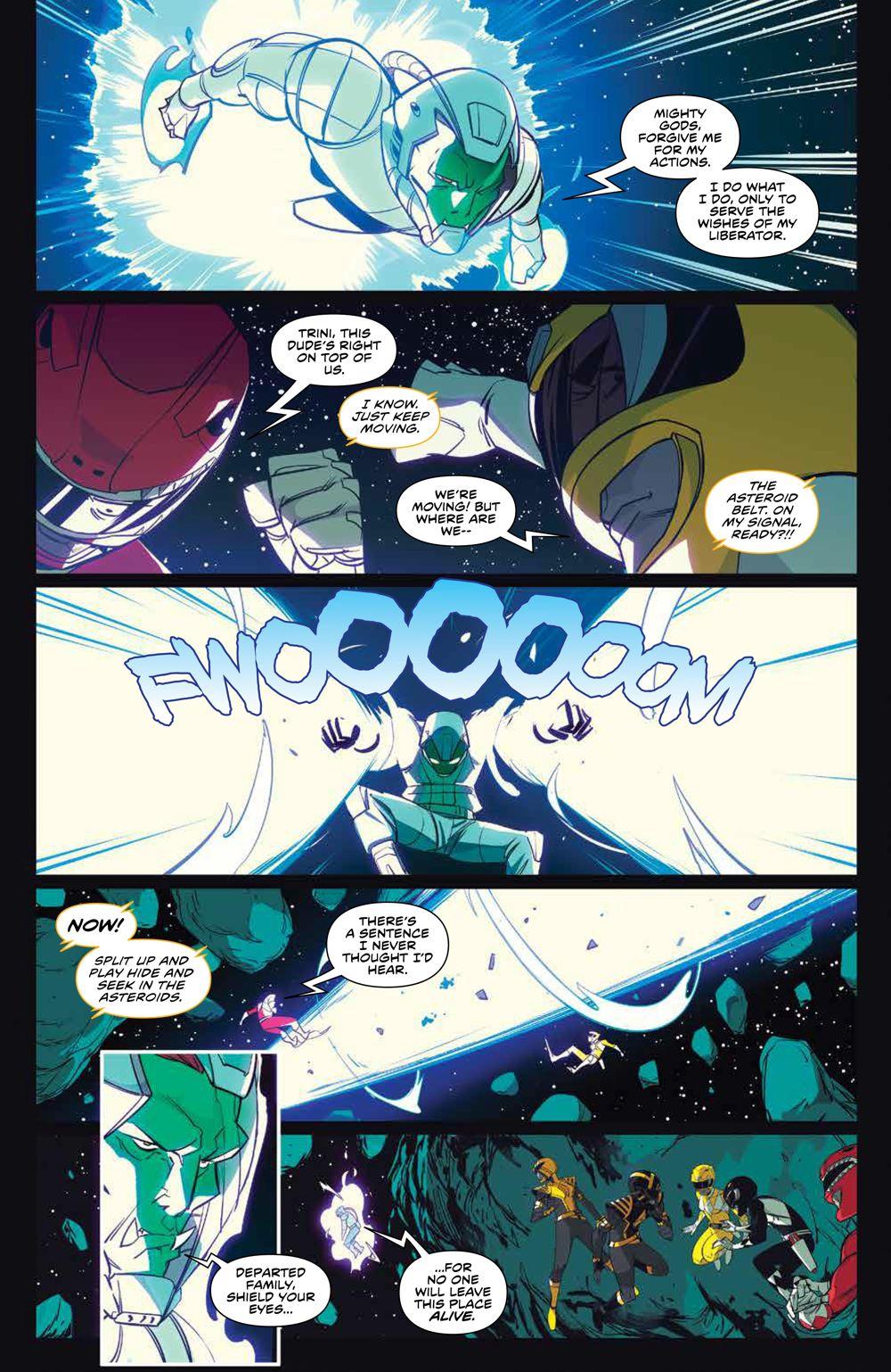 MMPR_v13_SC_PRESS_15 ComicList Previews: MIGHTY MORPHIN POWER RANGERS VOLUME 13 TP