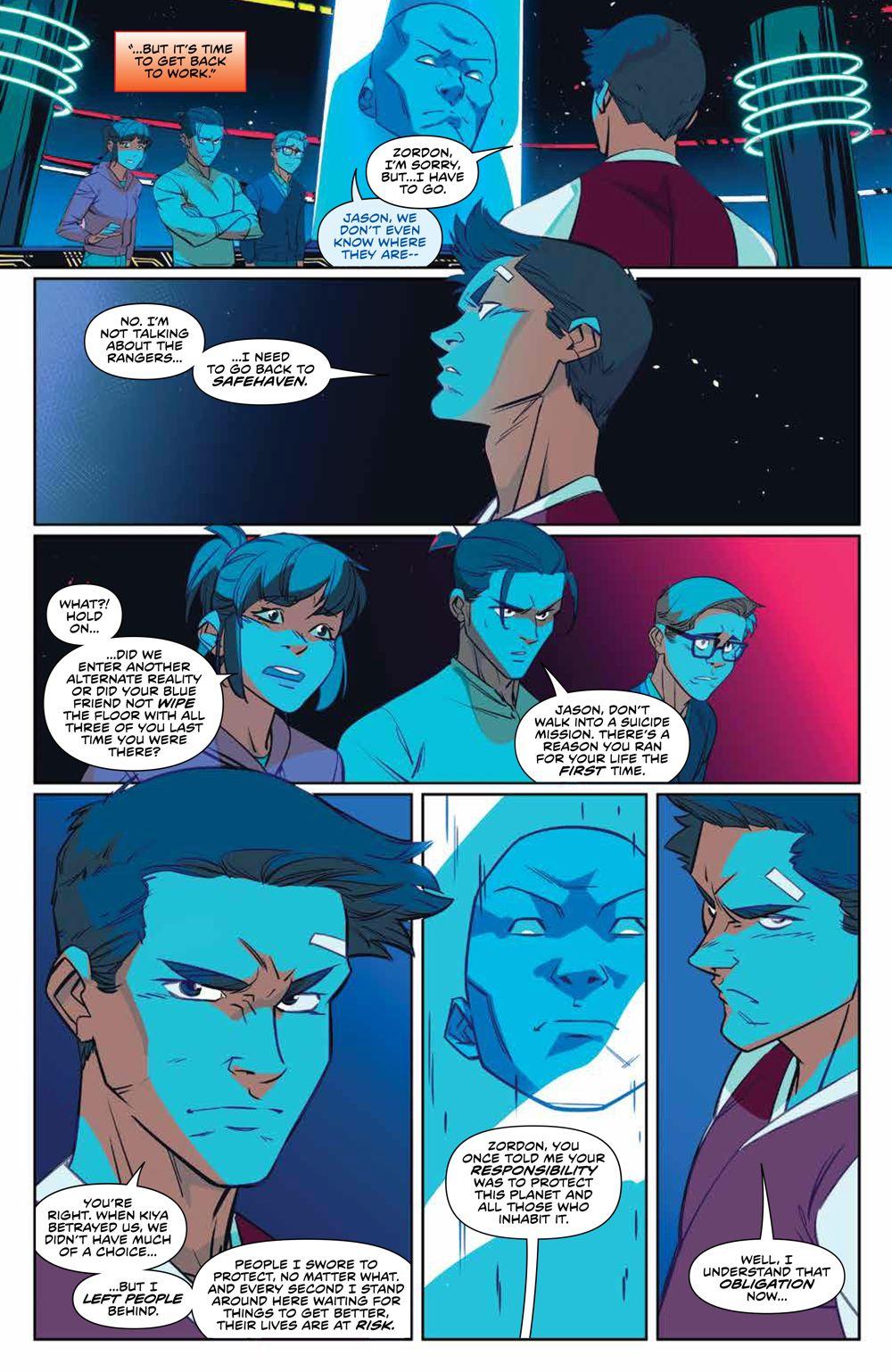 MMPR_v13_SC_PRESS_19 ComicList Previews: MIGHTY MORPHIN POWER RANGERS VOLUME 13 TP